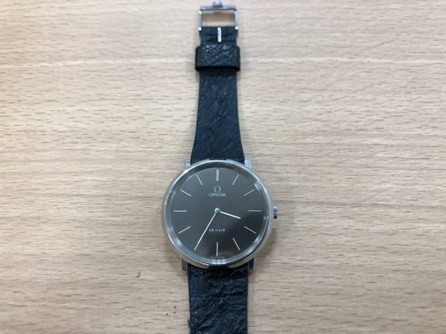 オメガ・デビル・メンズ時計を買取 堺 ベルヒル北野田店