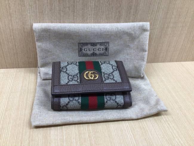 グッチ・オフィディア・スリーフォールドミニウォレット・644334を買取|京都|京都山科店