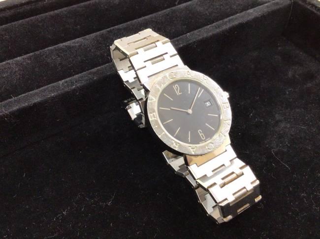 ブルガリ・ブルガリブルガリ・メンズ・クオーツ時計・BB33SSを買取|京都|京都山科店