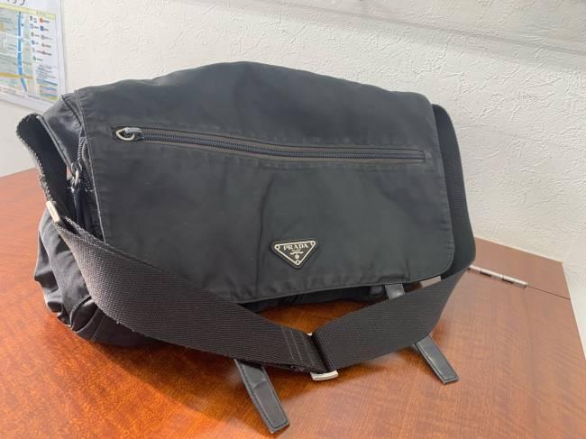 プラダ・ナイロン・メッセンジャーバッグを買取|神戸|垂水店