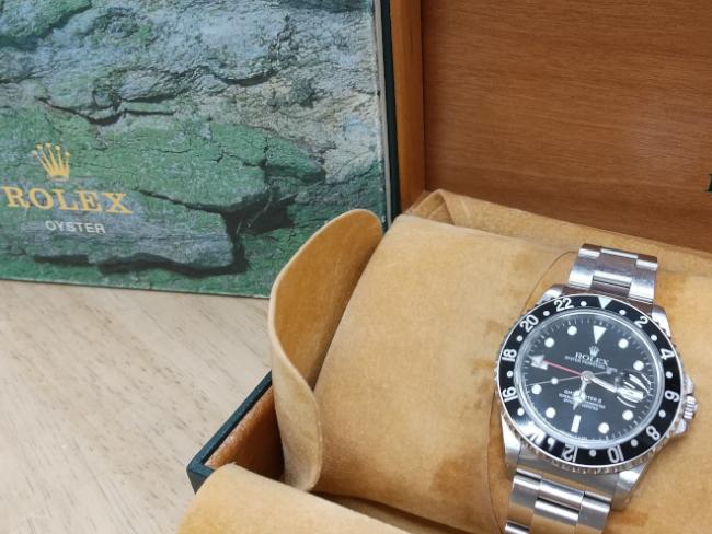 ロレックス・GMTマスターⅡ・16710を買取|姫路|広畑店