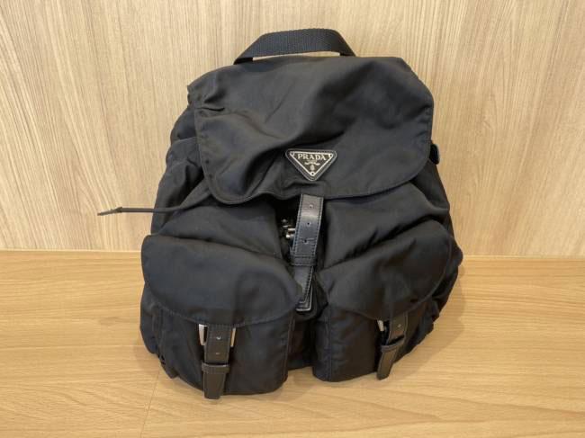 プラダ・ナイロン・リュック・B2811Fを買取 豊田 豊田下市場店