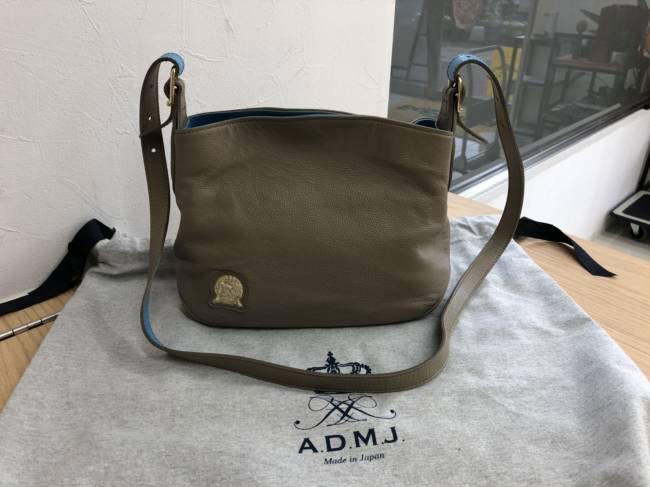 ADMJ・バイカラー・2way・ショルダーバッグを買取|埼玉|上尾店