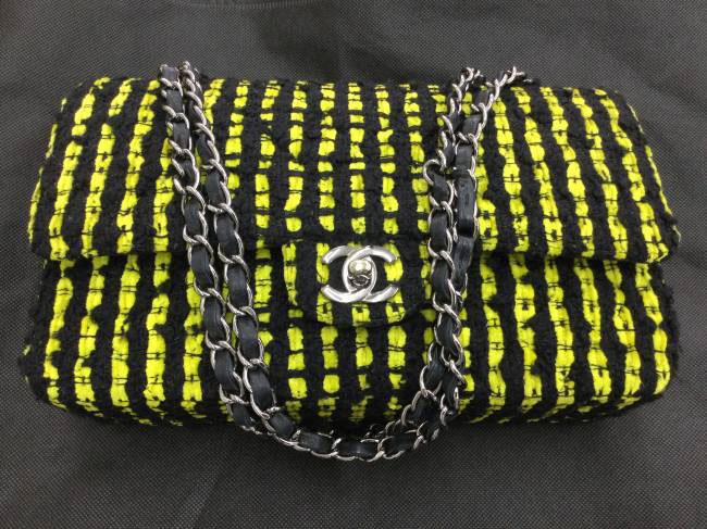 シャネル・ツイード・Wフラップ・チェーン・バッグを買取|東京|葛西店