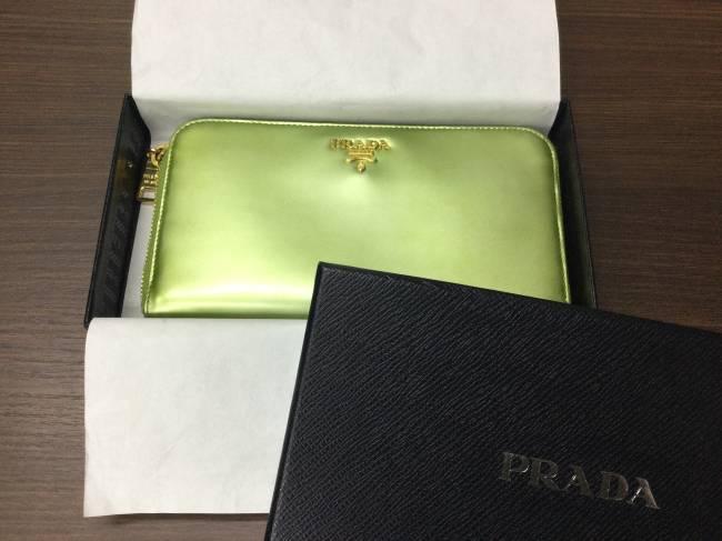 プラダ・ラウンド・財布を買取|東京|葛西店