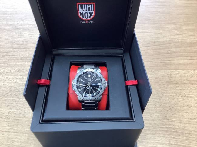 LUMINOX モダンマリーナ・ルミノックス・メンズ時計・6502を買取|奈良|学園前登美ヶ丘店