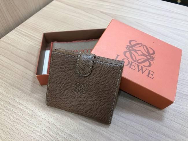 ロエベ・コンパクト財布を買取|堺|ベルヒル北野田店