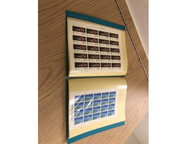切手・記念切手・シート・額面合計36400円分を買取|埼玉|上尾店