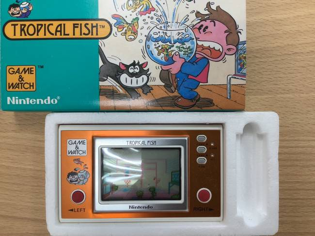 任天堂・ゲームウォッチ・トロピカルフィッシュを買取|奈良|奈良大安寺店