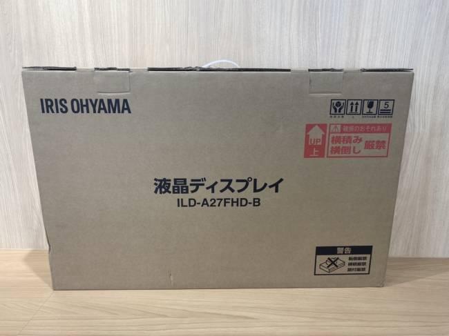 アイリスオーヤマ・液晶ディスプレイ・ILD-A27FHDを買取|豊田|豊田下市場店