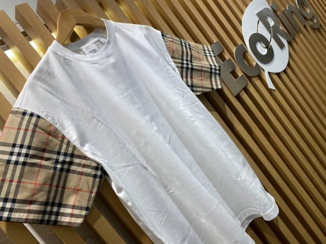 バーバリー・オーバーサイズTシャツ・ノバチェック