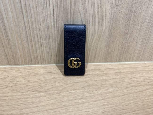 グッチ・GGマーモント・レザー・マネークリップ・522885を買取|豊田|豊田下市場店