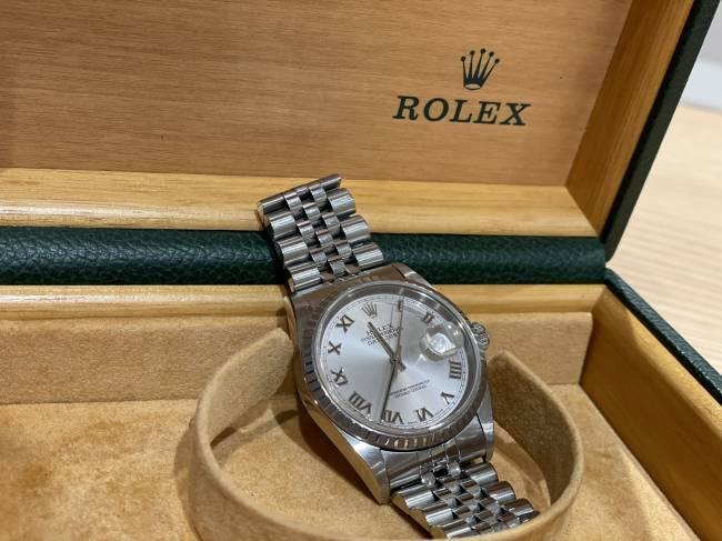 ロレックス・デイトジャスト・16220を買取|東京・台東区|上野マルイ店
