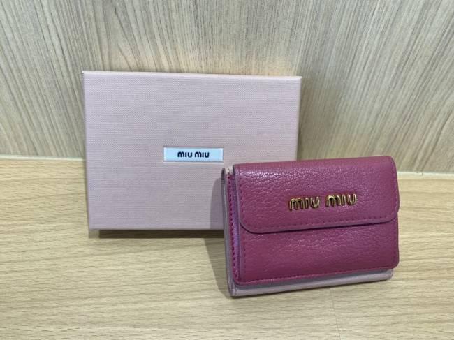 ミュウミュウ・三つ折り財布・5MH020を買取|豊田|豊田下市場店