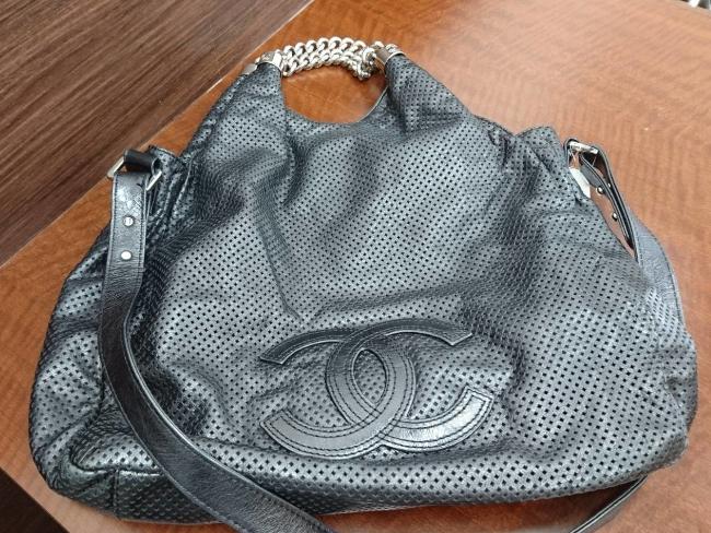 シャネル・パンチング・レザーのバッグを買取|名古屋|名古屋藤が丘店