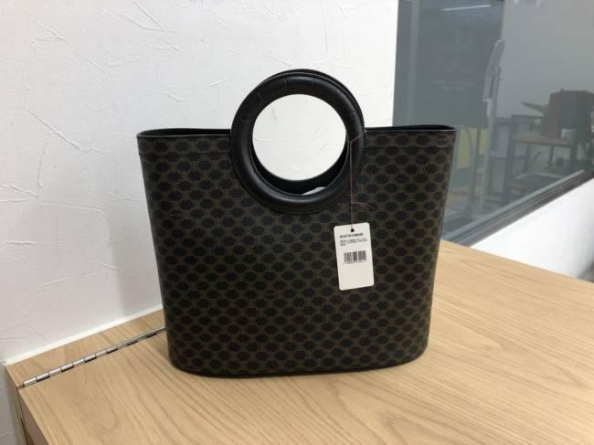 セリーヌ・ブラックマカダム・PVC・ハンドバッグを買取|埼玉|上尾店