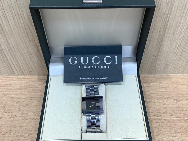 グッチ・スクウェア・レディース時計・3600Jを買取|奈良|奈良大安寺店