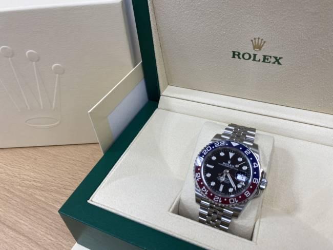 ロレックス・GMTマスター・126710BLROを買取|堺|ベルヒル北野田店