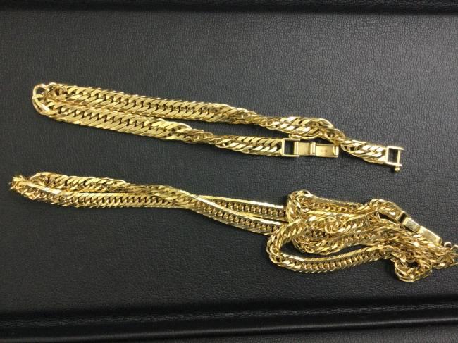 貴金属・k18 ネックレス・ブレスレットを買取 東京 葛西店