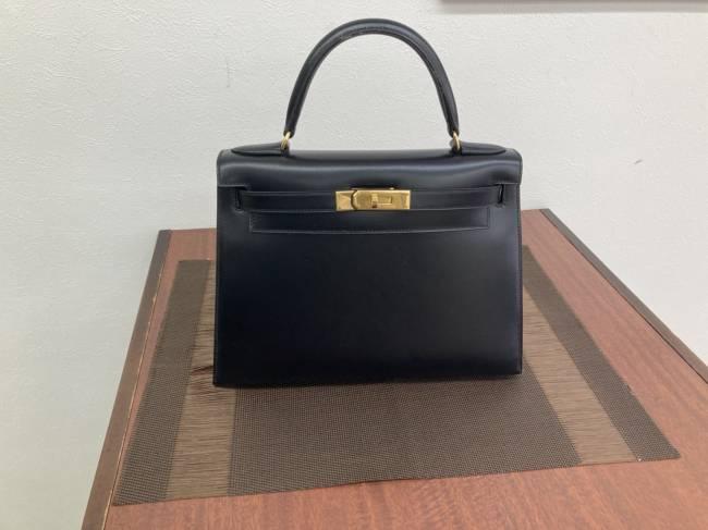 エルメス・ケリー28・ボックスカーフを買取|広島|広島西店