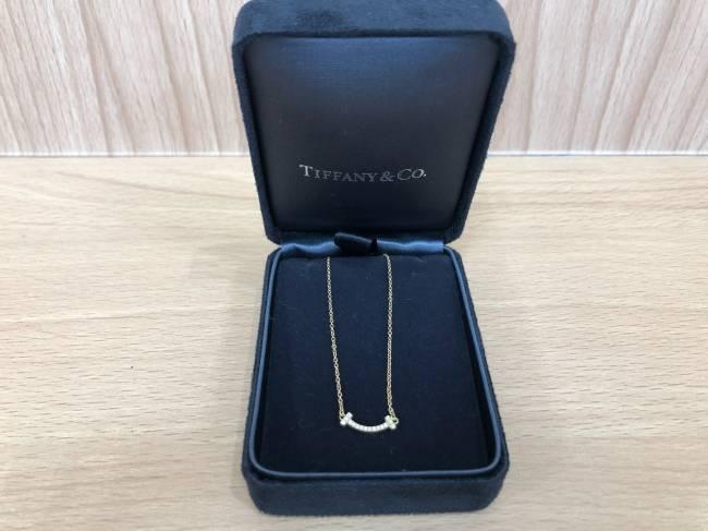ティファニー・Tスマイル ミニ ネックレスを買取|広島|広島祇園店