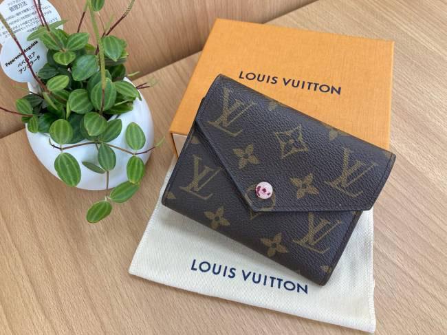 ルイヴィトン・モノグラム・ポルトフォイユ・ヴィクトリーヌ・二つ折り財布・M41938を買取|大阪|住道店