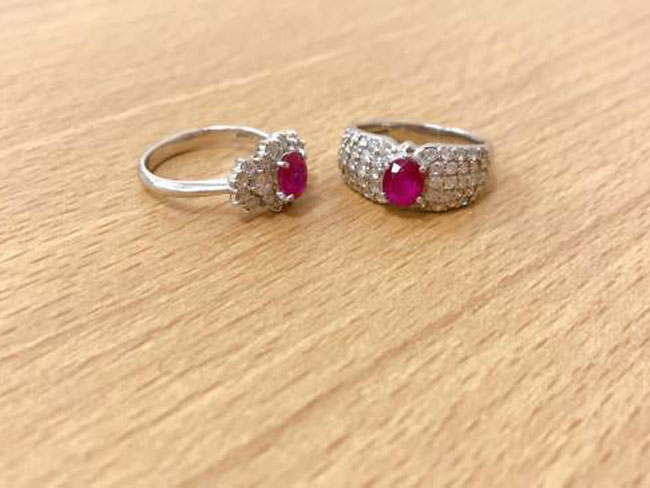 ノーブランド・Pt900・ルビーダイヤリングを買取|滋賀|守山店
