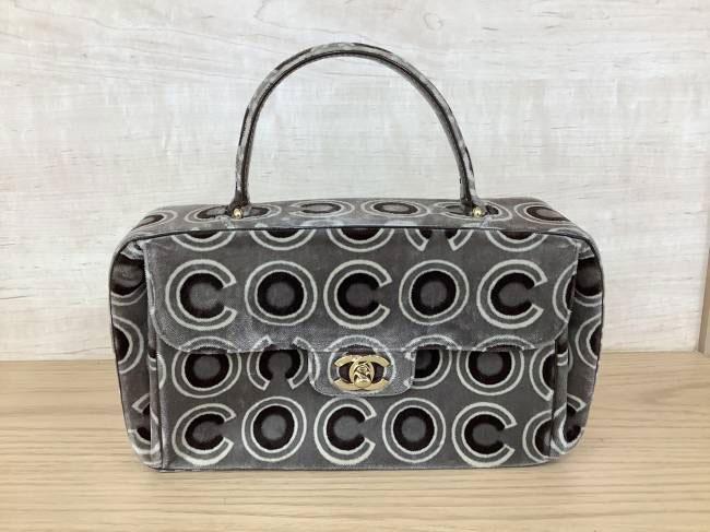 シャネル・ベロア・COCOデザインバッグを買取|京都|京都西院店