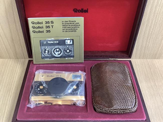 ROLLEI ・カメラ・60周年記念限定モデル・35Sを買取|奈良|学園前登美ヶ丘店