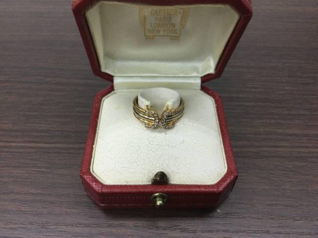 カルティエ・2c 750 ダイヤモンド・リングを買取|東京|葛西店