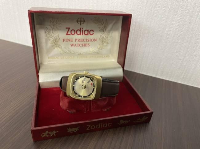 ゾディアック・アストログラフィック・ミステリーダイヤル・AT・腕時計を買取 梅田 塚口店