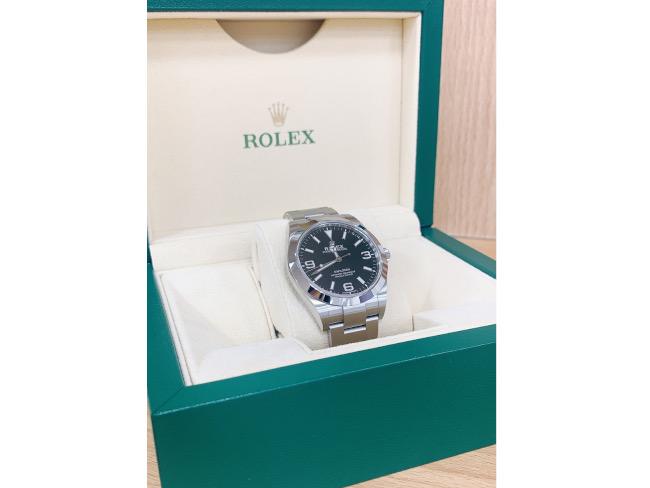 ロレックス・エクスプローラーⅠ・214270を買取 広島 広島祇園店