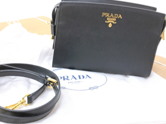 プラダ・サフィアーノ・2WAYを買取|滋賀|守山店